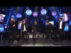 One Direction - Through The Dark on SNL // if you think these boys cant sing, watch this and you will think otherwise. by far my favorite live performance the boys have ever done