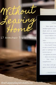 Here are 17 Armchair Travel Ideas for when you can't travel. These armchair travel activities will help you stay at home but take you places like travelling normally. Discover the armchair travel meaning, the ideas for bringing travel to your home and how to inspire wanderlust and learn about travel without leaving your house. From travel books to virtual travel and online cooking. Repin to Your Travel Activities Boards. #TravelFromHome #ArmchairTravel #ArmchairTravelling #BooksAboutTravel Literary Travel, Travel Books, Travel Advice, Travel Ideas, Travel Inspiration, Good Books, Books To Read, Working Holidays, Virtual Travel