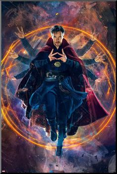 Doctor Strange Poster Collection: Printable Posters For All Marvel Fans Who cannot be a fan of Benedict Cumberbatch or our very own Marvel superhero Doctor Strange? Check out our awesome Doctor Strange poster collection. Marvel Dc Comics, Marvel Avengers, Marvel Art, Marvel Memes, Captain Marvel, Captain America, Marvel Doctor Strange, Doctor Strange Poster, Doctor Stranger Marvel