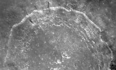 Close-Up of Crater Copernicus on Earth's Moon