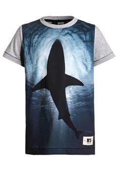 Molo - RAGNO - Print T-shirt - dark blue