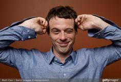Scoot McNairy of 'Argo' poses at the Guess Portrait Studio during 2012 Toronto International Film Festival on September 8, 2012 in Toronto, Canada.