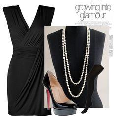Curvier little black dress