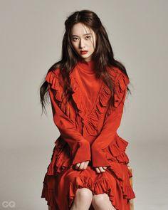160224 Krystal @《GQ Korea》3月號 官網更新