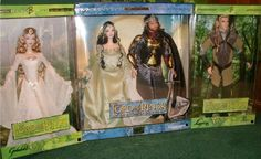 Mattel Lord of the Rings dolls: Aragorn, Arwen, Legolas & Galadriel>>> I would buy every single one of those!!!