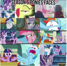 Season 6 ponies faces>>> gotta love it Mlp My Little Pony, My Little Pony Friendship, Funny Images, Funny Pictures, Mlp Memes, Mlp Comics, Mlp Pony, Twilight Sparkle, Rainbow Dash