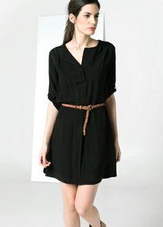 White dress/ mysterious black OYES(www.oyes-fashion.com)