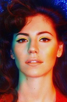 Marina and the Diamonds---her look for the Froot album.