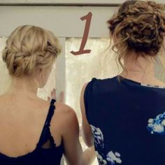 Obsessed with AJ's braid. Dutch braid front combined with a French braid back? NEED to figure out.