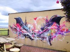 Birds by L7m #streetart #graffiti