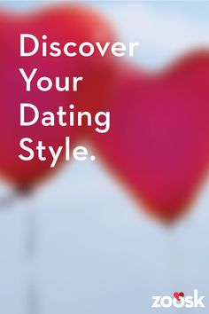 Discover your dating style on Zoosk. There is no algorithm for love, but Zoosk believes there is one for like. As you use Zoosk, we learn who you like and who likes you back. That way, the more you use Zoosk, the more information we have to help recommend people you may hit it off with!