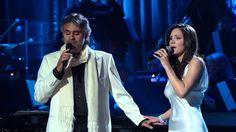 Andrea Bocelli and Katharine Mcphee Singing The prayer