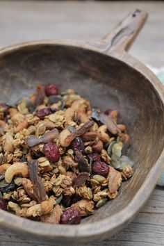 Fuel up + enjoy the great outdoors this weekend with this classic granola recipe.   The Healthy Chef