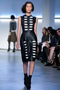 Trendspotting: Black and White at New York Fashion Week
