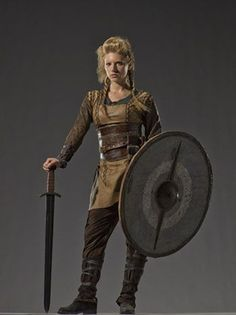 z- Katheryn Winnick- Lagertha (in Shieldmaiden Outfit)