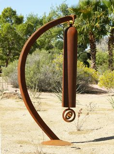 "HalfPipe, A Steel Windchime - Kevin Caron  (SKY)""I cant wait to make my bells"""