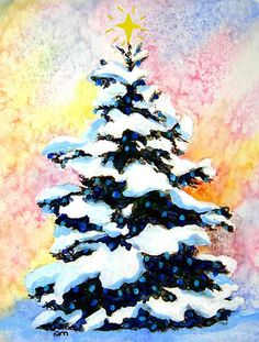 Posts related to christmas tree watercolor paintings