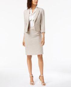92091db519c8 Kasper Tweed Pencil Skirt   Reviews - Skirts - Women - Macy s