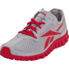 Reebok Women`s Realflex Running Shoe,Steel/Overtly Pink,8 M US $89.95
