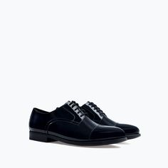 Image 2 of LEATHER BLUCHERS from Zara