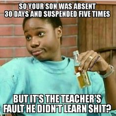 It's always our fault! Teacher Humour, Teacher Stuff, Classroom Humor, Teaching Memes, Bored Teachers, Teacher Problems, Math Jokes, Education Humor, School Memes