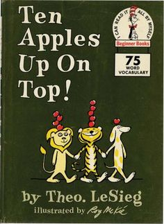 TEN APPLES UP ON TOP! First edition