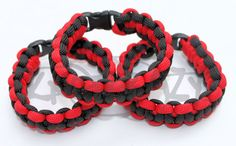 Planetside 2 Terran Republic Inspired 550 Paracord by KnotKrazy, $7.50