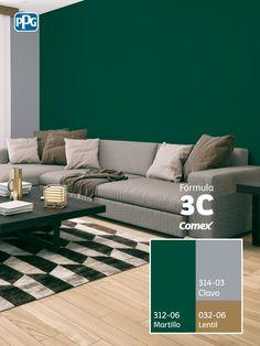 Interior Color Schemes, House Color Schemes, Living Room Color Schemes, House Colors, Industrial Home Design, Wall Painting Decor, Home Garden Design, Minimalist House Design, Luxury Homes Interior