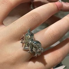 Hand Jewelry, Cheap Jewelry, Nice Jewelry, Open Ring, Rings For Men, Peach, Silver Rings, Gifts, Cheap Wholesale