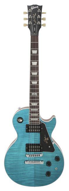 Gibson Les Paul Signature 2014 w/Min-Etune Carribean Blue