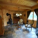 New Ladybug cabin at Shadow Mountain Escape - can't wait to get the woodstove kickin'