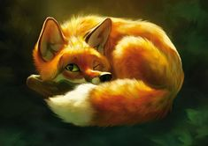 LARSSON, Therese - fox