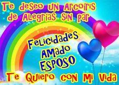 Tarjetas especiales de amor con felicitaciones bonitas de Feliz Cumpleaños