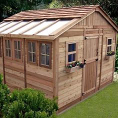Garden Sheds Charlotte Nc garden sheds with clerestory e-plan | shelter: cabin in the yard