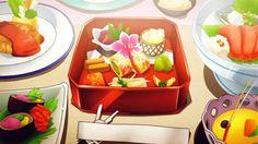 Yuno and Yukiteru go to a Wedding tasting, Mirai Nikki, Episode 10.
