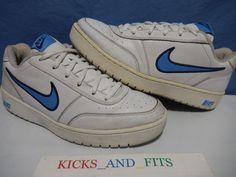 013fb001910e9 2005 Nike Franchise Shoes Men s 11 310025-144 White Blue Vtg Rare Casual  Low Top  Nike  AthleticSneakers