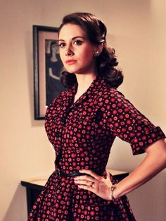 Alison Brie as Trudy Campbell in Mad Men