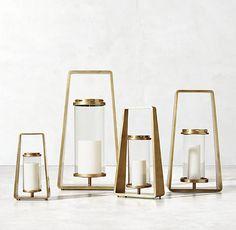 Morency Lantern - Brass