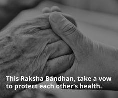 ApnaCare wishes you a Happy Raksha Bandhan. Happy Rakshabandhan, Raksha Bandhan, International Day, Indian Festivals, Vows, Wish, Calendar, Events, Health