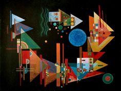 Pictures From Kandinsky | puzzle 1000 pieces kandinsky spitzen im bogen puzzle wassily kandinsky ...
