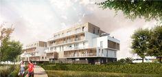 Agence Goulard - Brabant - Loïez Architectes Associés - NEXITY / 71 Logements collectifs