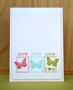 Stamping & Sharing: In The Spotlight - Post It: Love (& chance to win!)