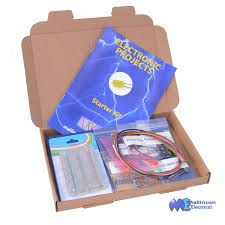 Electronics Project Kit for Beginners. Solderless Breadboard parts Hobby Kits, Engineering Projects, Stepper Motor, Electronics Projects, Kids Gifts, Starter Kit, Ebay, Amazon, Circuit