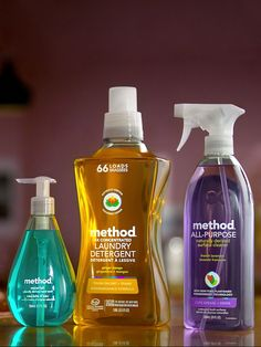 when you have clean ingredients you can play as dirty as you want without feeling bad about the clean up. Clean Freak, Clean Up, Cleaning Products, Cleaning Supplies, Method Cleaner, Method Homes, Shampoo Bottles, Natural Cleaners, Arno