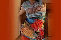 uncinetto moda e fantasia:     uncinetto barriera corallina