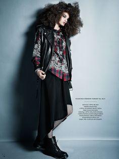 """Elle Sweden August 2013, """"Modern Grunge"""""""