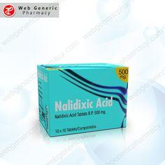 Nalidixic Acid (Neggram) 500mg 1 Pharmacy, Drugs, Pills, Apothecary