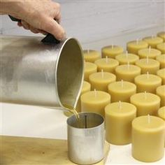 How To Scent Candles soy candle making tutorial Making Beeswax Candles, Soy Candle Making, Homemade Candles, Diy Candles, Scented Candles, Candle Decorations, Candle Wax, Pillar Candles, Chandeliers