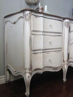- Creative Furniture Design Wood - - Refinishing Furniture DIY Step By Step - Distressed Dresser, Distressed Furniture, Painted Furniture, Grey Dresser, Furniture Design, Refinished Furniture, Furniture Logo, Cheap Furniture, Unique Furniture