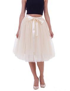Women's High Waist Princess A Line Midi/ Knee Length Tutu... https://www.amazon.com/dp/B01NA683JS/ref=cm_sw_r_pi_dp_U_x_8RbTAbN05579K
